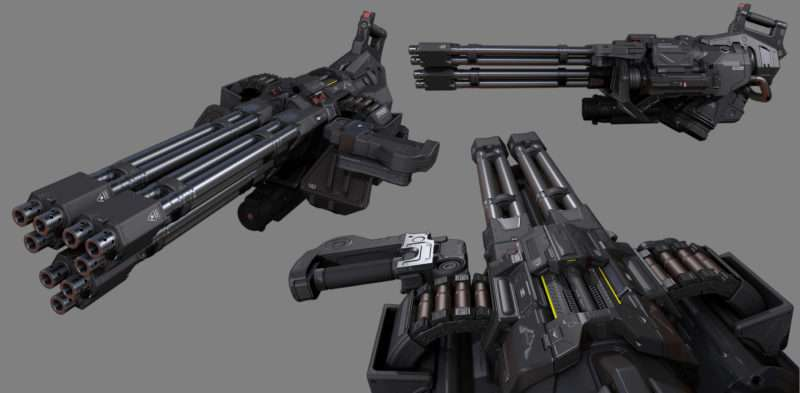 DOOM: Chaingun Turret Mod