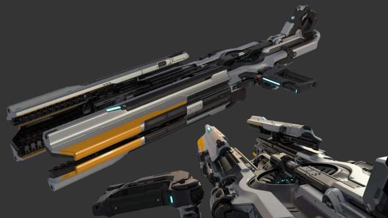 DOOM: Gauss Cannon