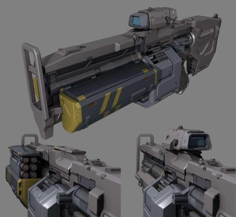 DOOM: Heavy Assault Rifle