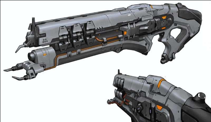 DOOM: Lightning Gun