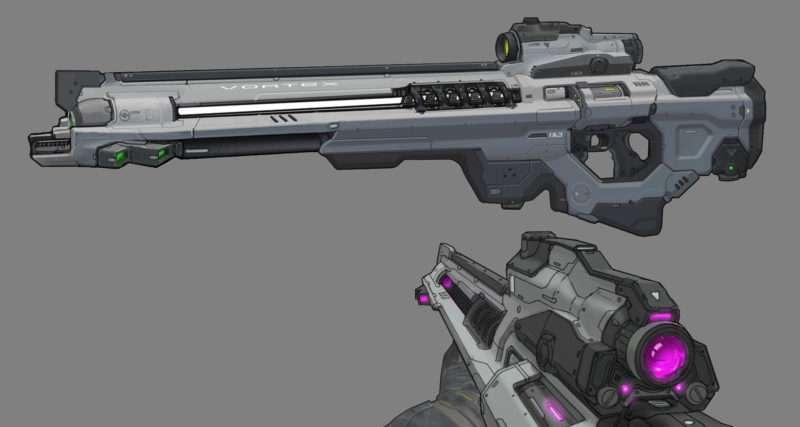 DOOM: Vortex Rifle